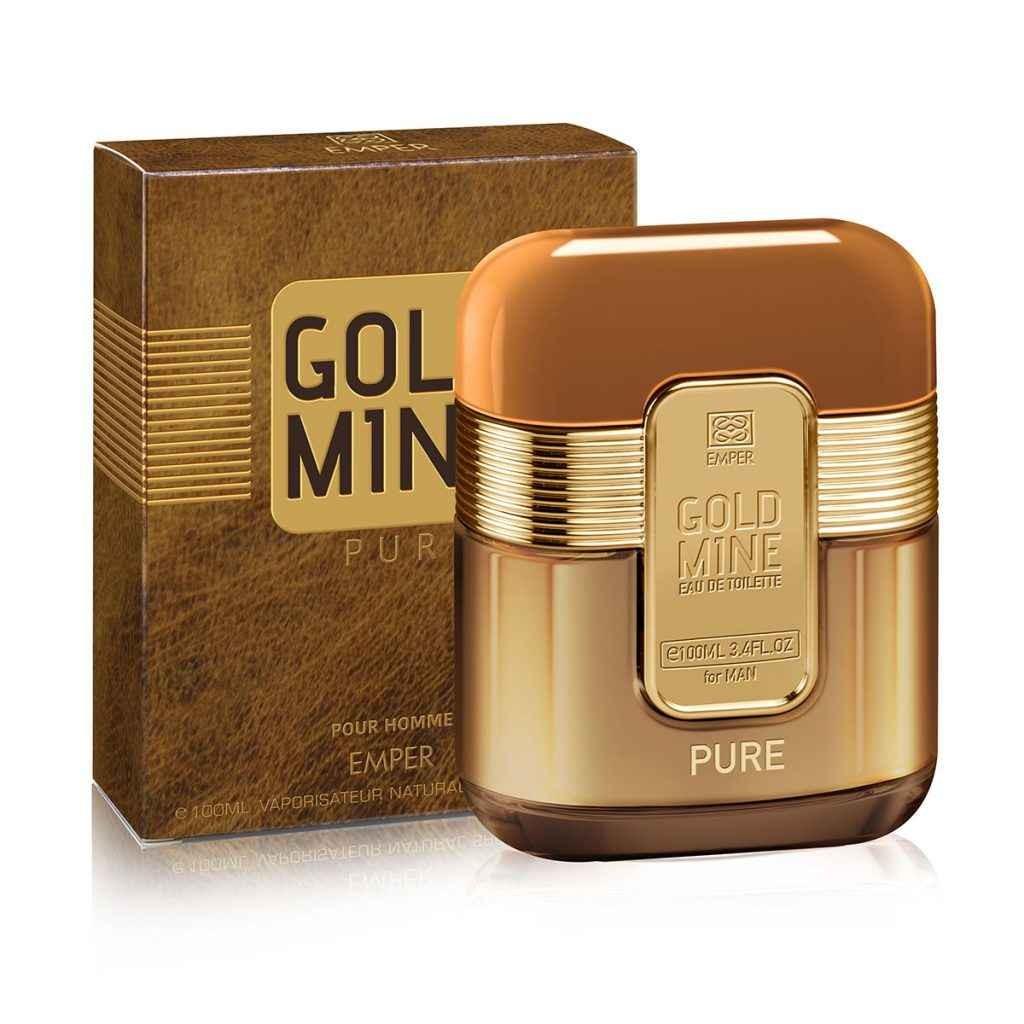 Apa de Toaleta Gold Mine-Pure Man 100ml
